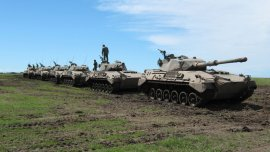 El Tanque Argentino Mediano fue empezado a fabricar en los 70