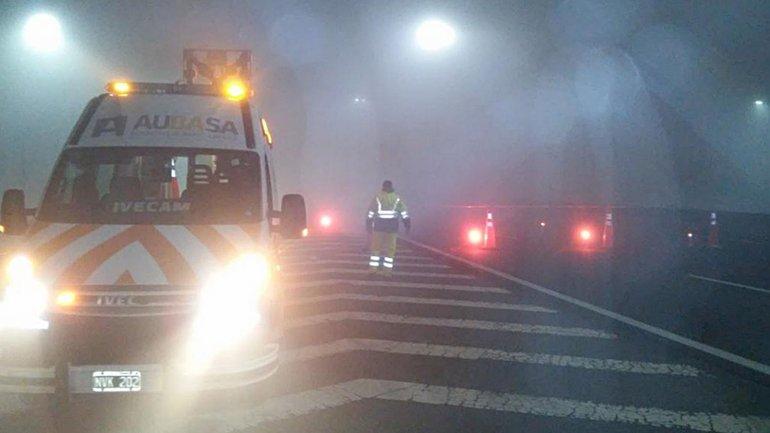 Por la niebla todos los accesos a la ciudad est n for Benetton quedara autopista panamericana acceso oeste