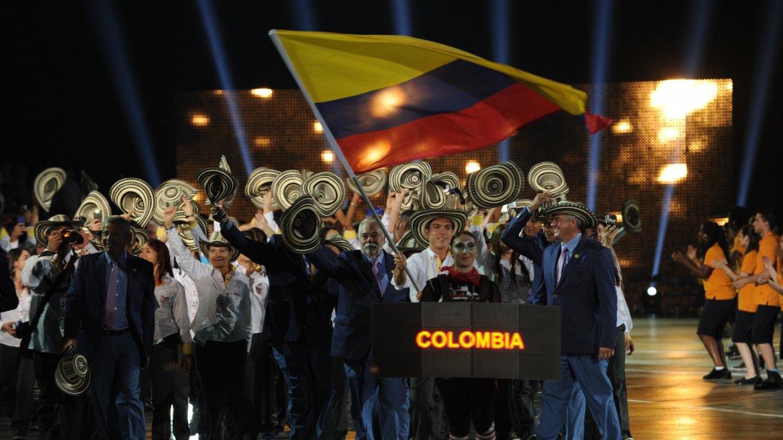 Colombia y una importante presencia de sus atletas
