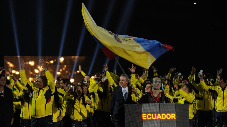 Los deportistas que viajaron por Ecuador