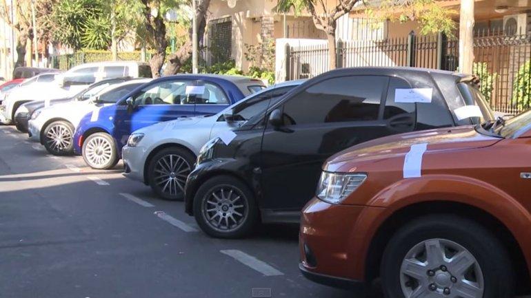 Unos 60 autos de alta gama le fueron secuestrados a la banda