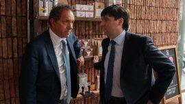 Daniel Scioli y Diego Bossio