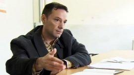 El condenado Martín Lanatta, durante su entrevista con el programa Periodismo para Todos