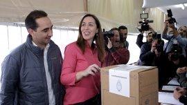 Maria Eugenia Vidal, precandidata a gobernadora bonaerense por el frente Cambiemos