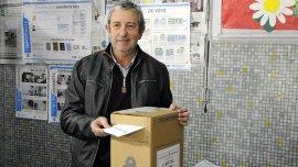 El candidato a senador nacional del Frente Cambiemos de Mendozax