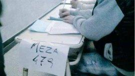 La meza 479: el error ortográfico se viralizó en las redes