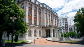 Tribunales federales de La Plata.