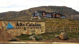 El hotel Alto Calafate.