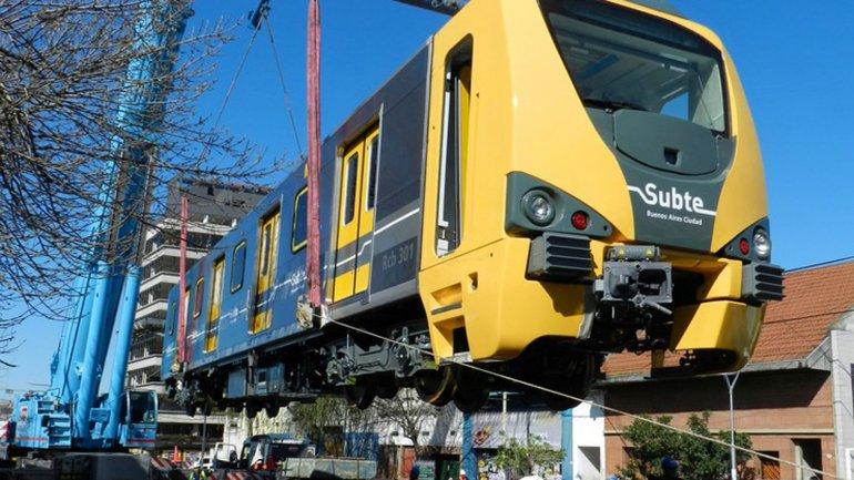 Nuevos vagones con aire acondicionado para la línea H
