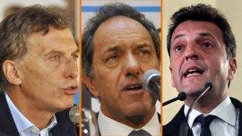 Los principales candidatos presidenciales hacen números a 42 días de la elección