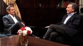El ex presidente de Francia visitó la ex Esma durante su segundo día en la Argentina
