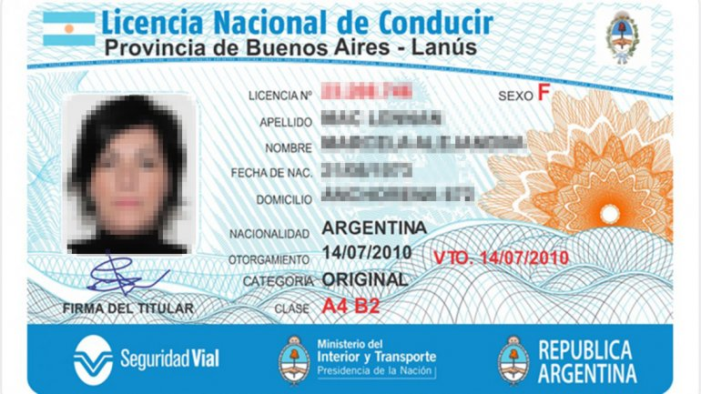 A que edad se puede sacar el registro en argentina 2016