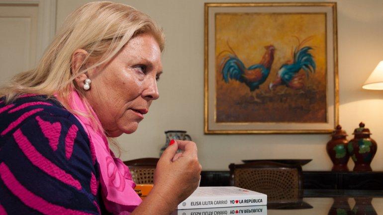 Elisa Carrió no dudó a la hora de criticar al papa Francisco