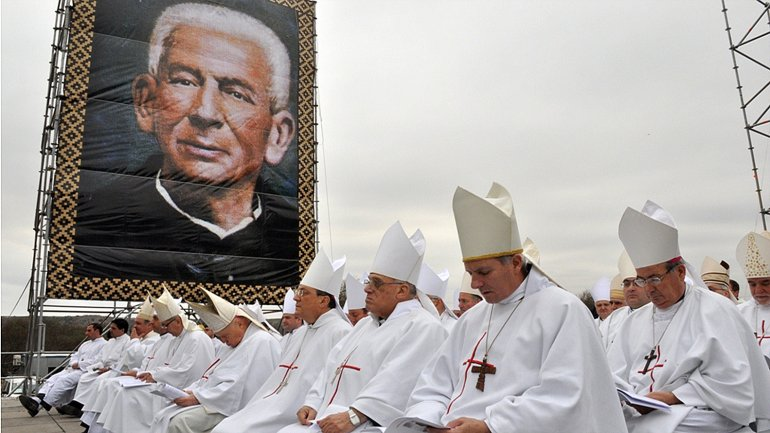 José Gabriel Brochero había sido beatificado en septiembre 2013.