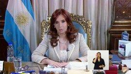 Cristina Kirchner no dudó en utilizar la cadena nacional en plena campaña