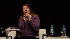 La gobernadora de Tierra del Fuego, Roxana Bertone