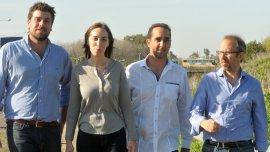 Lucas Delfino, María Eugenia Vidal, Ramiro Tagliaferro y Diego Valenzuela