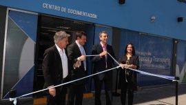 Florencio Randazzo, al inaugurar el nuevo Centro de Documentación