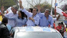Mauricio Macri compartió una recorrida con Gerardo Morales en Jujuy