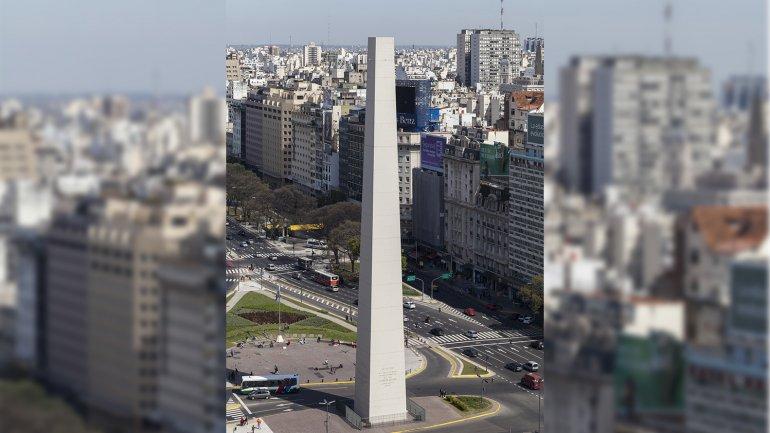 ¿Obelisco sin punta? Cómo hicieron para borrarla, te explico