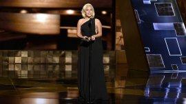 Lady Gaga en la última entrega de los premios Emmys
