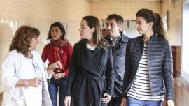 Juliana Awada recorrió el Conurbano junto a María Eugenia Vidal
