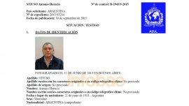 La circular azul librada por Interpol para localizar a Antonio Jaime Stiuso