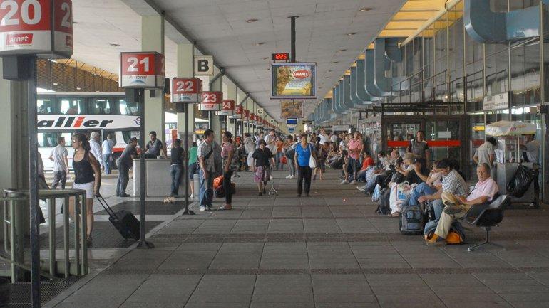 Resultado de imagen para retiro terminal de ómnibus