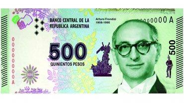 Antes del triunfo de Mauricio Macri, militantes del PRO habían propuesto la emisión de un billete de 500 pesos con la imagen de Arturo Frondizi