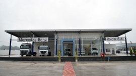 Mercedes Benz amplió un concesionario en Tucumán