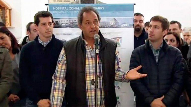 """Daniel Scioli rechazó aplicar """"grandes devaluaciones para el privilegio de unos pocos"""""""