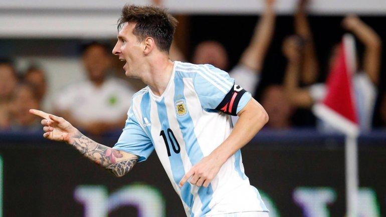En el último partido de Messi con la camiseta de Argentina se lo pudo ver delgado y más veloz