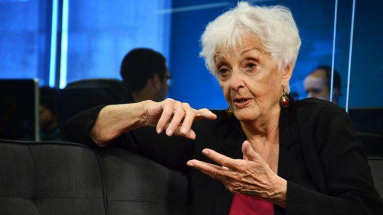 Graciela Fernández Meijide: Fue desmesurado pedir la denuncia de Lopérfido