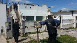 Una mujer fue asesinada delante de sus hijos en esta casa de Mar del Plata.