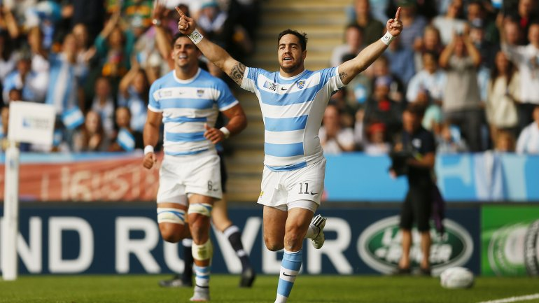 Los Pumas aplastaron a Namibia y superaron a los All blacks