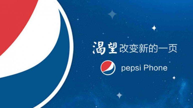El celular Pepsi P1 se venderá solo en China
