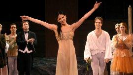 La bailarina se despidió con lágrimas y ante una ovación de la Sala Principal.