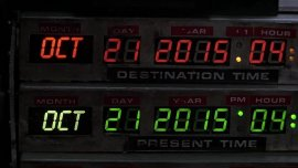 Marty McFly llegará al futuro esta semana