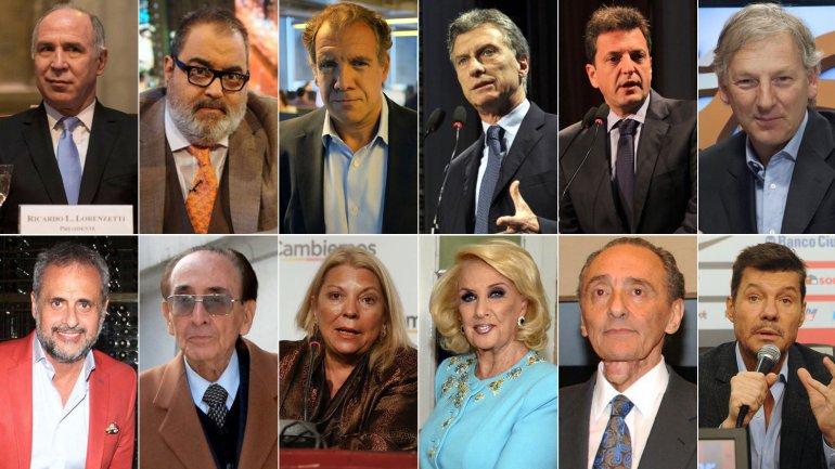 La lista de espiados incluía a políticos, jueces, periodistas y famosos