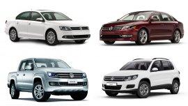 Los modelos de Volkswagen afectados
