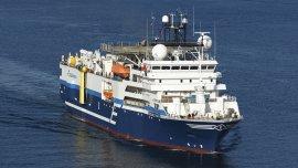 El buque Oceanic Champion, de la compañía francesa de geociencia CGG, fue el que detectó la probable reserva de gas.