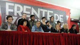 Nicolás del Caño llamó a votar en blanco en el ballottage y a enfrentar las políticas de ajuste.