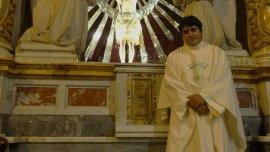 Juan de Dios Gutiérrez es el párroco de Nuestra Señora de Belén.