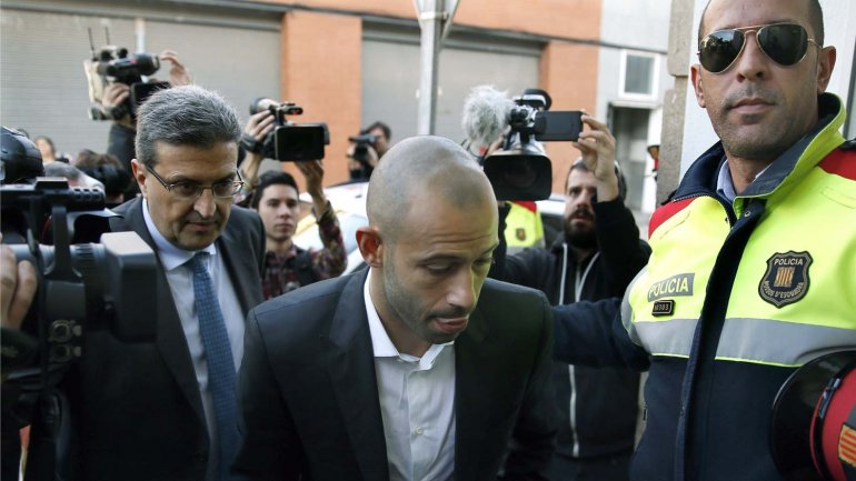Condenaron a un año de cárcel a Javier Mascherano