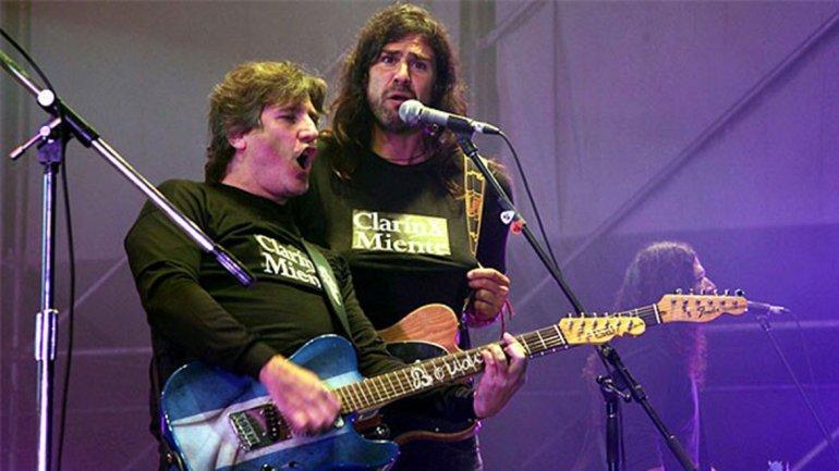 Manuel Quieto canta junto a su amigo Amado Boudou