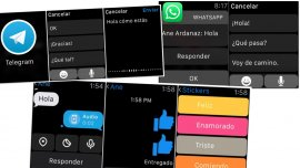 Telegram, WhatsApp y Facebook Messenger en Apple Watch