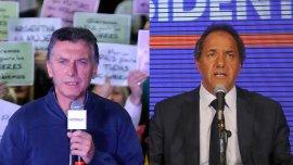 Los equipos de Macri y Scioli analizan las estrategias para el ballotage