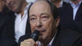 Ernesto Sanz,senador nacional y titular del radicalismo