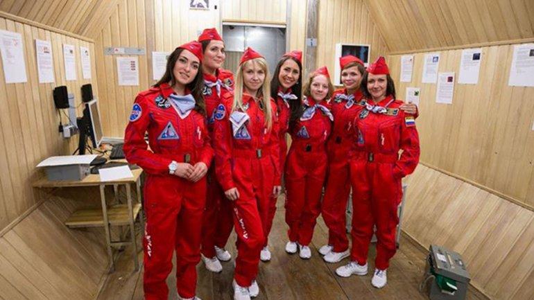 Las astronautas rusas que viajarán a la Luna
