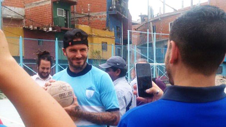 David Beckham esta en argentina